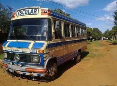 Transportistas escolares lamentan rechazo de posibilidad de funcionar como buses públicos