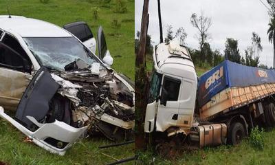 Fatal accidente de tránsito en Mauricio José Troche – Prensa 5