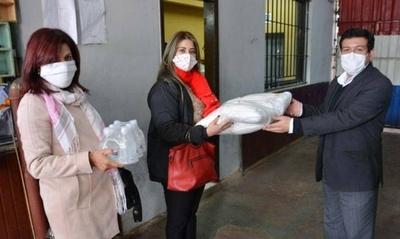 HOY / Donan elementos de higiene a penal de Tacumbú para combatir COVID-19