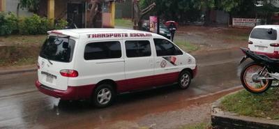 Transportistas escolares lamentan negativa para que puedan funcionar como buses públicos – Prensa 5