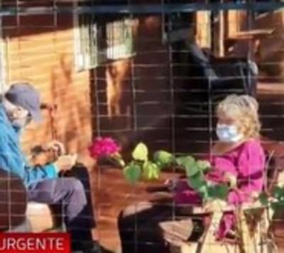 Abuelita sin nexo en Concepción