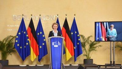 Merkel: Europa está en la situación más difícil de su historia