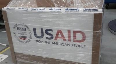 Embajador estadounidense anunció que llegarán respiradores al país