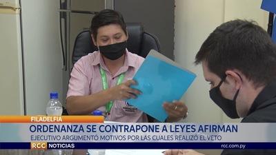GOBERNADOR DE BOQUERÓN AFIRMA APOYAR LA TRANSPARENCIA PERO RESPETANDO LAS LEYES