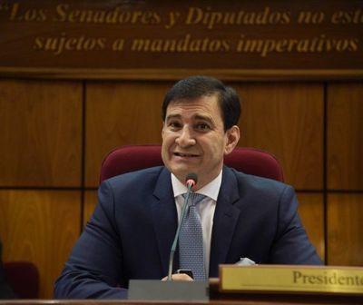 """Pelada virtual del senador Silvio """"Beto"""" Ovelar"""