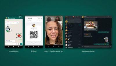 WhatsApp trae novedades en julio: stickers animados, códigos QR para registrar y más