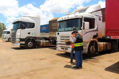 No multarán a transportes de cargas por habilitación vencida hasta el 31 de julio