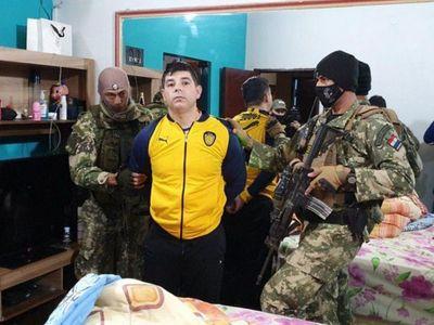 Líder de la barrabrava de Luque fue detenido por la Senad