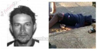 Paraguayo asesinado en Ponta Porã contaba con orden de captura por homicidio
