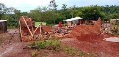Unas 700 familias fueron afectadas por temporal en Presidente Franco – Diario TNPRESS