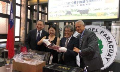 » Taiwán se posiciona en tercer lugar como comprador de la carne paraguaya, durante la pandemia