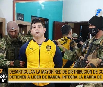 Operativo ''Juego Sucio'': Detienen a líder de poderosa red de tráfico de cocaína
