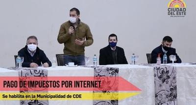 Municipalidad de CDE habilita el pago de impuestos a través de internet