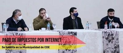 Municipalidad de Ciudad del Este habilita pago de impuestos a través de internet