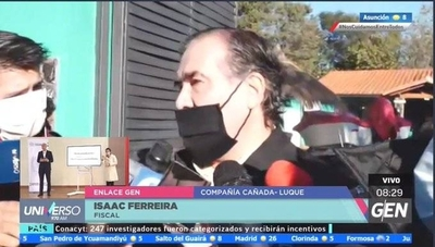 "HOY / Fiscal Isaac Ferreira, sobre el operativo ""Juego Sucio"""