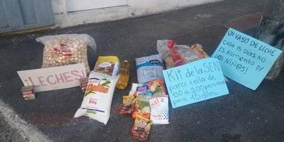 HOY / Pobladores de los distintos bañados de Asunción piden a la Sen recursos para continuar con las ollas populares