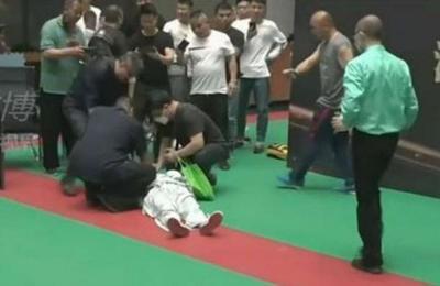 Luchador aficionado noqueó en medio minuto al autoproclamado maestro del Tai Chi
