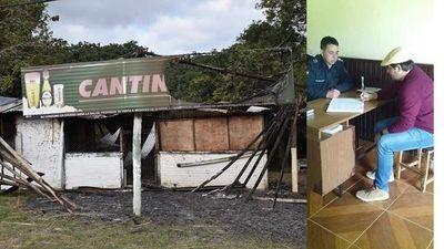 Intendente de Villa Florida denuncia vandalismo en Playa Camping Paraíso