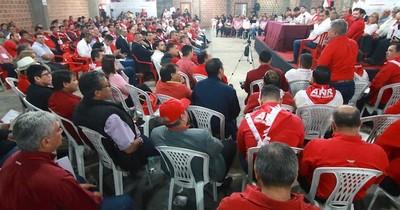 Consejo de Seccionales Coloradas da respaldo total al informe de gestión de Abdo