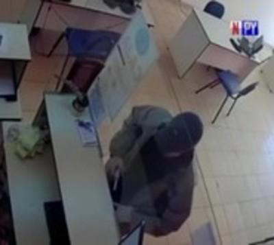 Luque:Millonario asalto a local de cobranzas