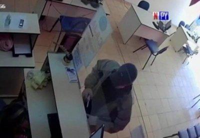 Solitario ladrón realiza millonario robo