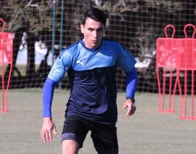 Junior Alonso se acopla a los trabajos en Ypané