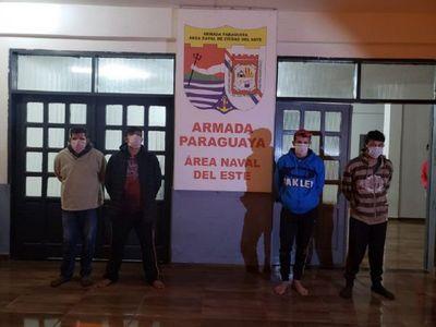 Varios detenidos por ingreso al país a través del río Paraná