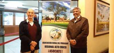 """Cordeiro reelecto Presidente de la Regional Alto Chaco: """"Hay que estar unidos"""""""