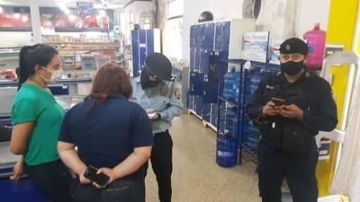 HOY / Embargan caja de supermercado en Coronel Oviedo