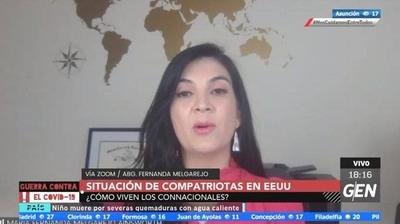 HOY / Fernanda Melgarejo, Abogada, sobre la situación de compatriotas en Estados Unidos