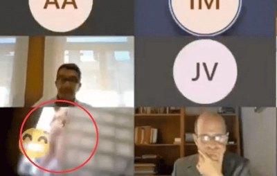 Concejal oike ojahu en medio de sesión virtual