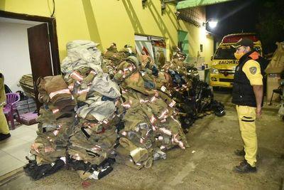 Bomberos retiraron donación proveniente de Kansas, tras varias semanas