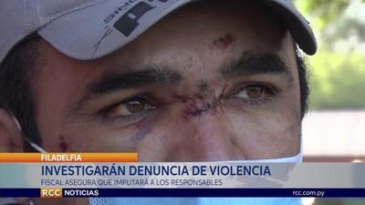 FISCALIA INVESTIGARÁ DENUNCIA POR VIOLENCIA POLICIAL EN EL CHACO