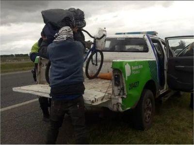 Paraguayo viajó casi dos mil kilómetros en bici para ver el mar, pero no llegó