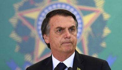 Bolsonaro veta uso de mascarillas en espacios públicos