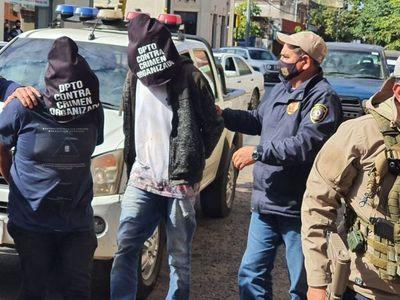 Amambay: detienen a tres hombres y decomisan fusiles