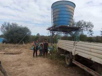 En Mariscal Estigarribia asisten a localidades con problemas en sistemas de agua