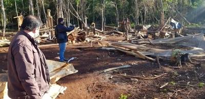 HOY / Recuperan 11 hectáreas invadidas de una Franja de Protección de Itaipú