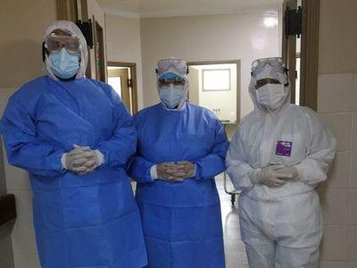 Adolescente con coronavirus dio a luz por cesárea en Paraguarí
