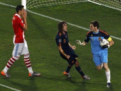 Iker Casillas mandó un mensaje a Paraguay en el recuerdo de los cuartos de final del 2010