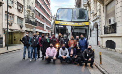 HOY / Desde Argentina vuelve otro centenar de ciudadanos paraguayos