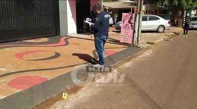 Supuesto narcos y sicarios protagonizan tiroteo en las calles de Pedro Juan