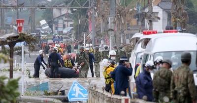Decenas de muertos y desaparecidos en Japón por las lluvias torrenciales