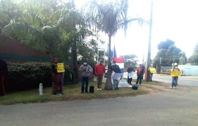 Sindicato del Asunción Golf Club pide volver a trabajar para sobrellevar la crisis