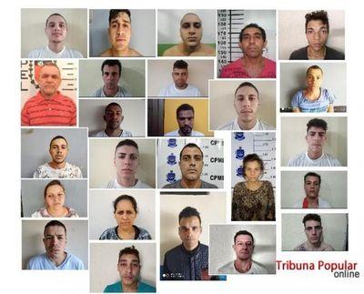 Alerta en la frontera por fuga de 33 presos en Brasil