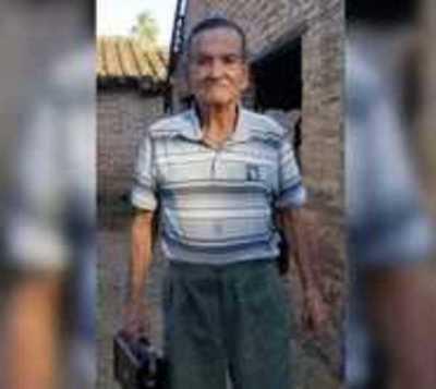 Buscan a abuelito desaparecido