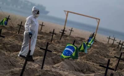 Brasil rebasa los 1,6 millones de casos y roza 65.000 muertes por COVID-19