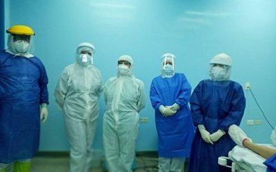 Realizan primera cesárea a paciente con coronavirus en CDE