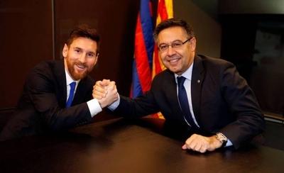 HOY / El presidente del Barcelona no duda de la continuidad de Messi en el club