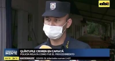 Investigan a policías por omisión en masacre en Capiatá